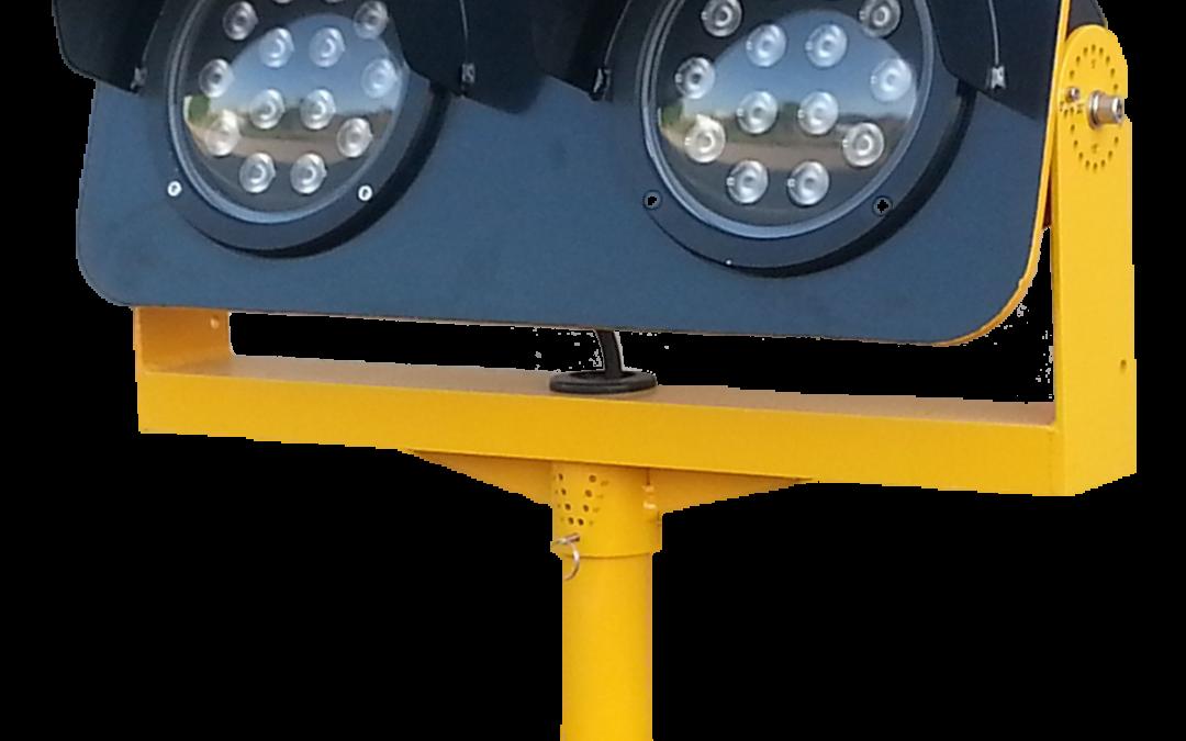 LETG – Balise Surélevée à LED d'Avertissement d'Entrée en Piste