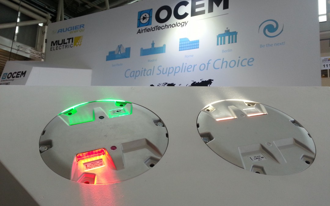 The Airfield Ground Lighting towards LED technology: story of OCEM at Inter Airport Europe