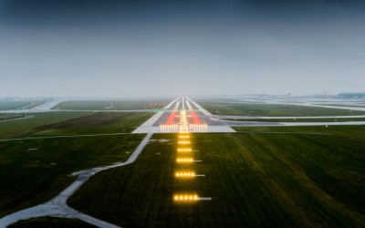 Berlin chooses OCEM Airfield Technology LED lighting signals