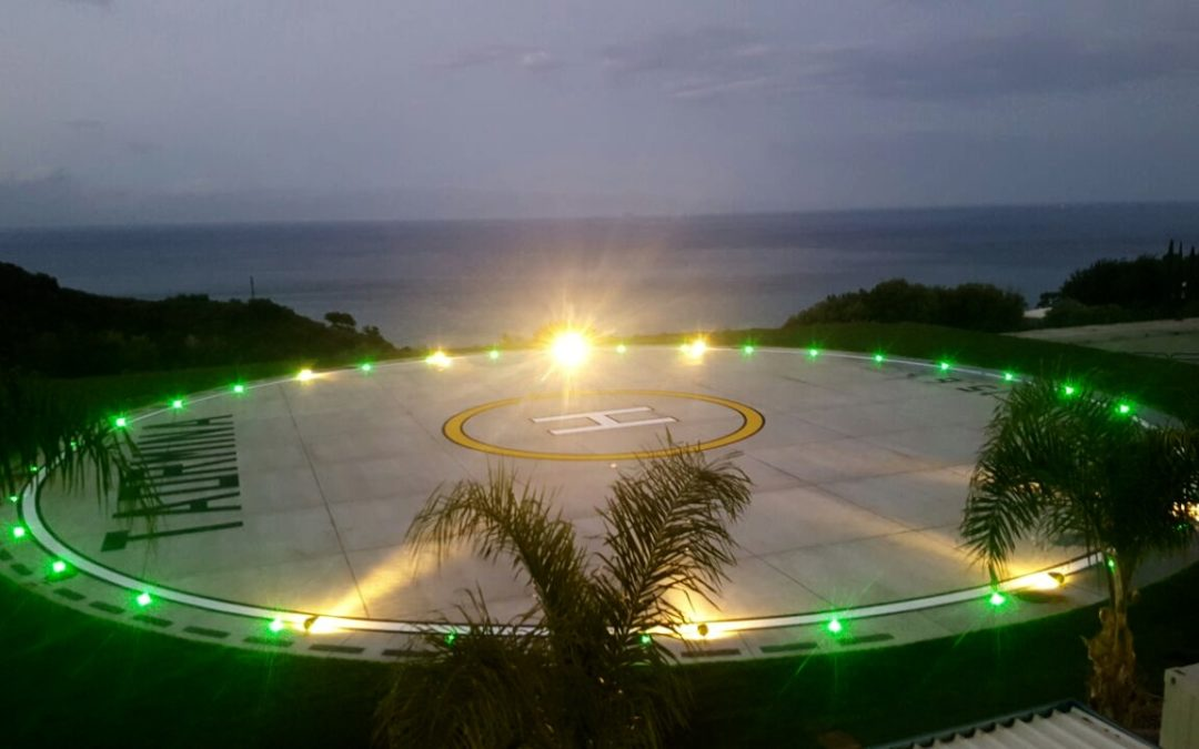 OCEM lighting signals announce the arrival of G7 in Taormina