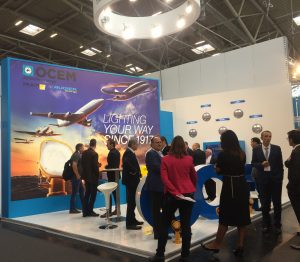 Ocem stand at Inter Airport Europe 2017