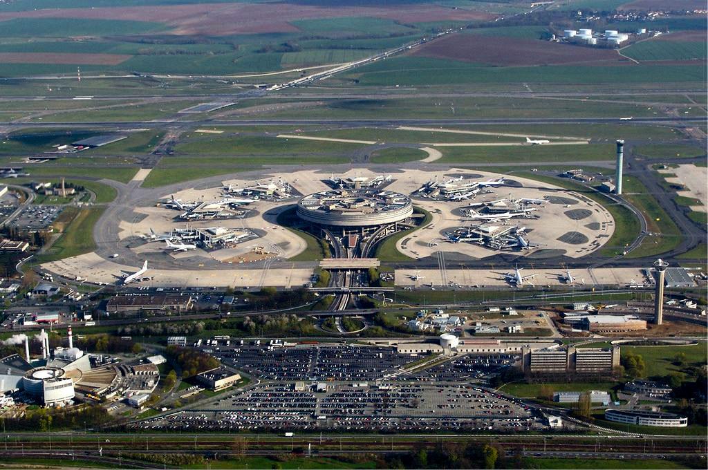 Terminal 1 of CDG Airport