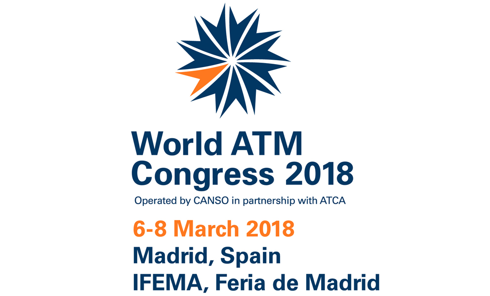 World ATM Congress 2018, Visit Us at Stand # 139
