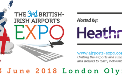 Visit us at the British – Irish Airports Expo in London, June 12-13!