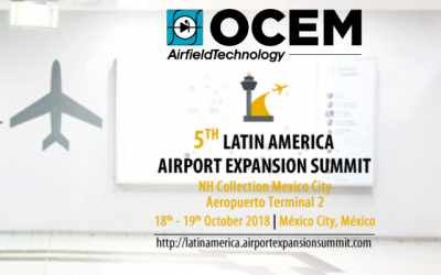 Come meet OCEM Airfield Technology's team at the Latin America Summit, Oct. 18 – 19!
