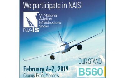 Visit us at Russia's most influential Aviation Industry event, NAIS, Feb. 6-7!